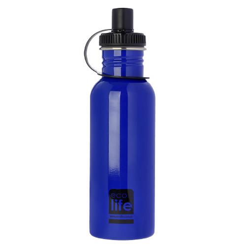 Μεταλλικό Ανοξείδωτο Μπουκάλι Blue 600ml