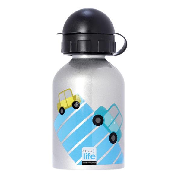 Μεταλλικό Ανοξείδωτο Μπουκάλι Cars 400ml