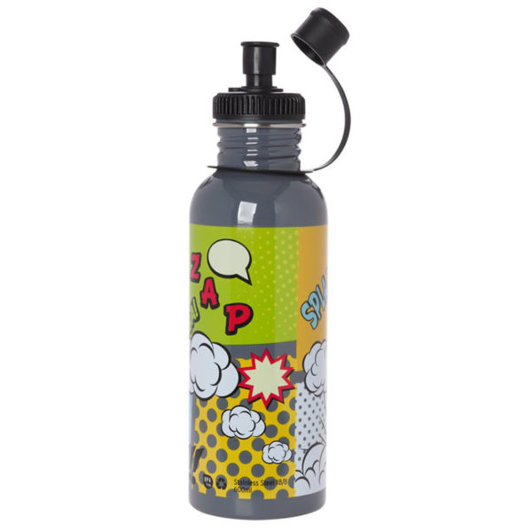 Μεταλλικό Ανοξείδωτο Μπουκάλι Cartoon 600ml