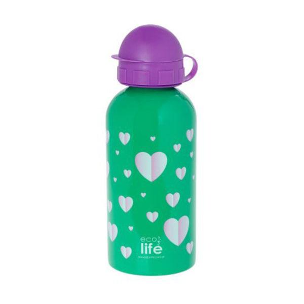 Μεταλλικό Ανοξείδωτο Μπουκάλι Hearts 500ml