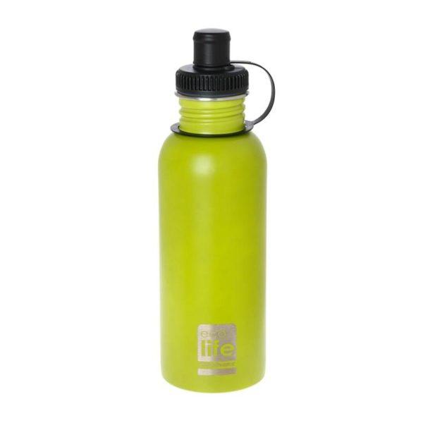 Μεταλλικό Ανοξείδωτο Μπουκάλι Lime 600ml