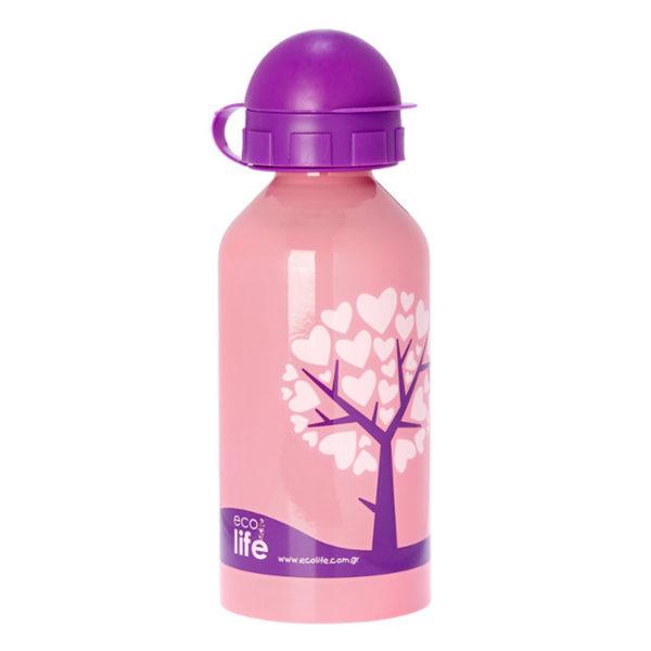 Μεταλλικό Ανοξείδωτο Μπουκάλι Love Tree 500ml