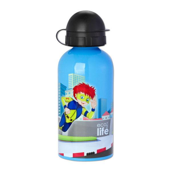 Μεταλλικό Ανοξείδωτο Μπουκάλι Super Boy 500ml