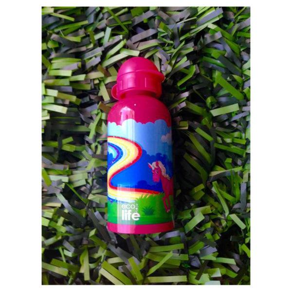 Μεταλλικό Ανοξείδωτο Μπουκάλι Super Girl 500ml