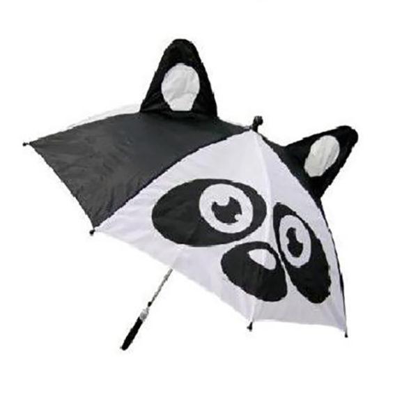 Ομπρέλα Παιδική Ασπρόμαυρη Panda