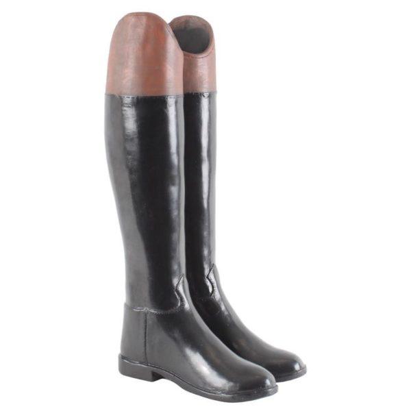 Ομπρελοθήκη 'Μπότες Ιππασίας' Δίχρωμη Μαύρη/ Καφέ Y58