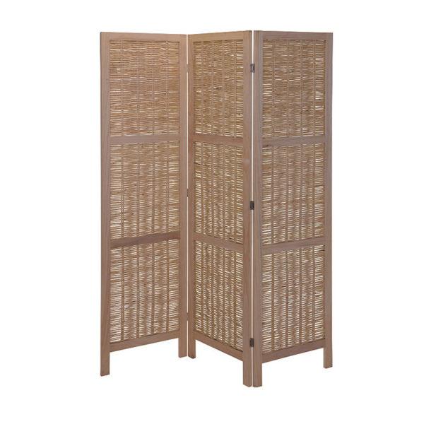Παραβάν Από Bamboo Μπεζ Μ150 Υ175