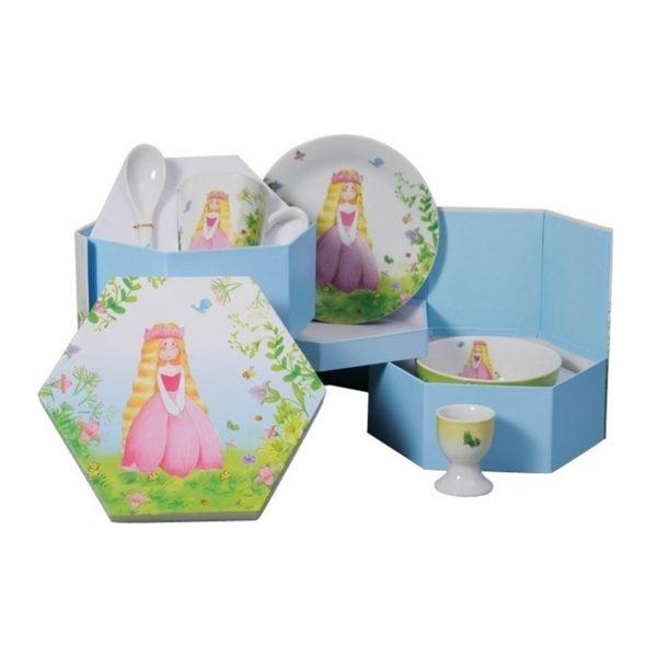 Παιδικό Σετ Φαγητού 5 Τεμαχίων Princess