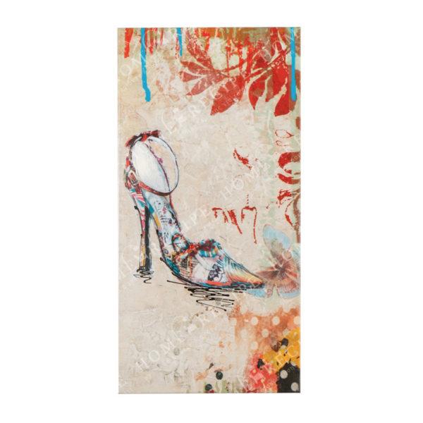 Πίνακας Σε Καμβά 'Γυναικείο Γοβάκι' 20x3.5x40