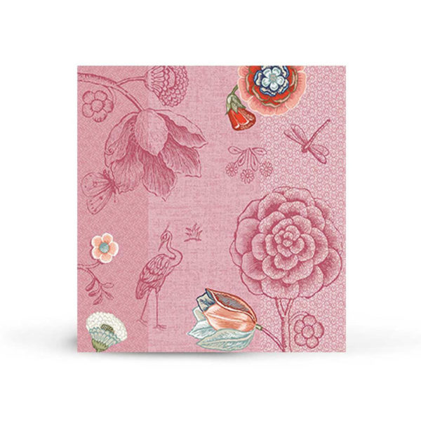 PIP Χαρτοπετσέτες 'Spring To Life' Ροζ, Σετ Των 20