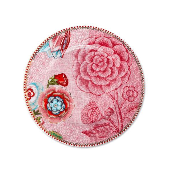 PIP Πιάτο 'Spring To Life' Ροζ 17cm