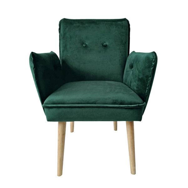 Πολυθρόνα Βελούδινη Emerald 'Cozy Up' Υ84