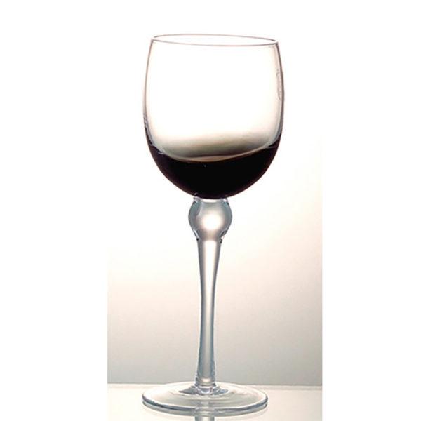 Ποτήρι Φυσητό Κρασιού Με Πόδι Smoke Half