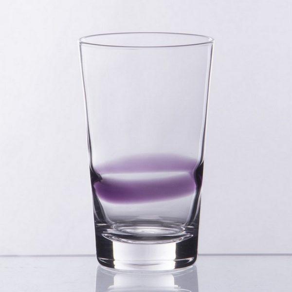 Ποτήρι Φυσητό Νερού 6 Τεμαχίων Amethyst