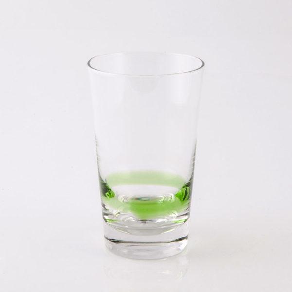 Ποτήρι Φυσητό Νερού 6 Τεμαχίων Hayman Green