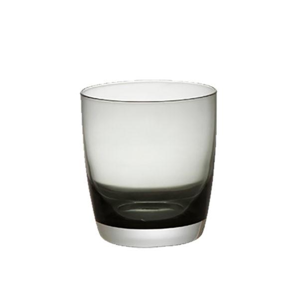 Ποτήρι Φυσητό Ουίσκι Irid Smoke