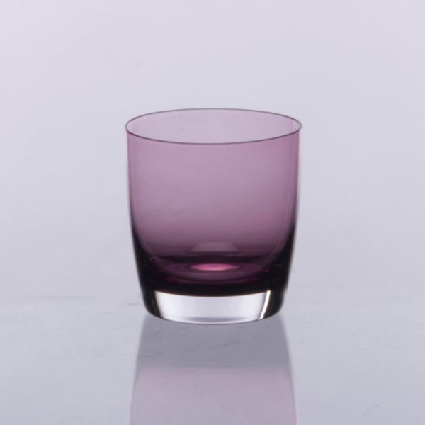 Ποτήρι Ουίσκι Φυσητό 6 Τεμαχίων Irid Μωβ