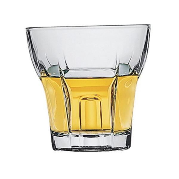 Ποτήρι Ουίσκι Γυάλινο ''Temple Whiskey'' 275cc, Σετ Των 6