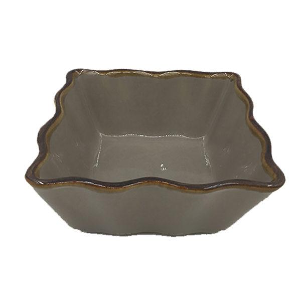 Πυρίμαχο Σκεύος Τετράγωνο Καφέ ''Ramekin'' Μ11