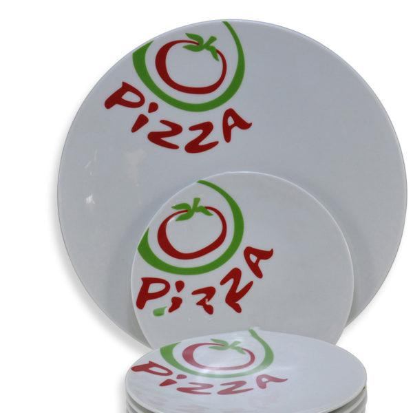 Σετ Πάστας 7 Τεμαχίων Pizza Red