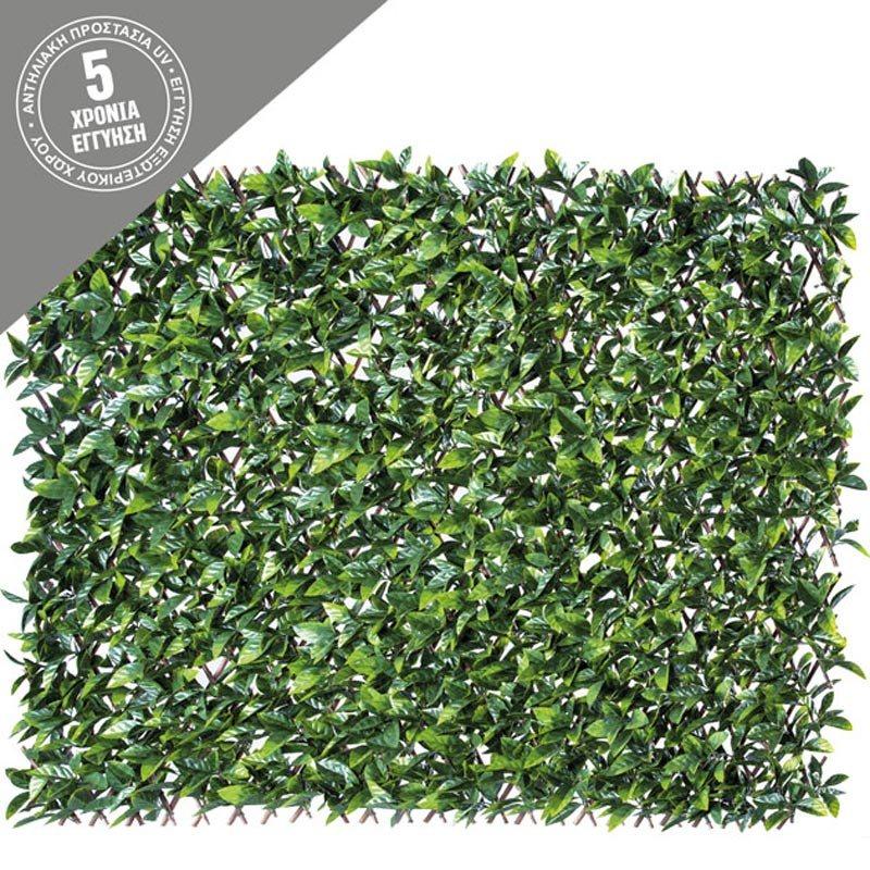 Τεχνητή Πέργκολα/ Κάθετος Κήπος Μπαμπού Με Φύλλο Πράσινο 100x200