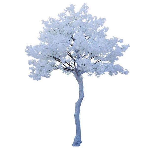 Τεχνητό Δέντρο Αμυγδαλιά Χιονισμένη Υ340