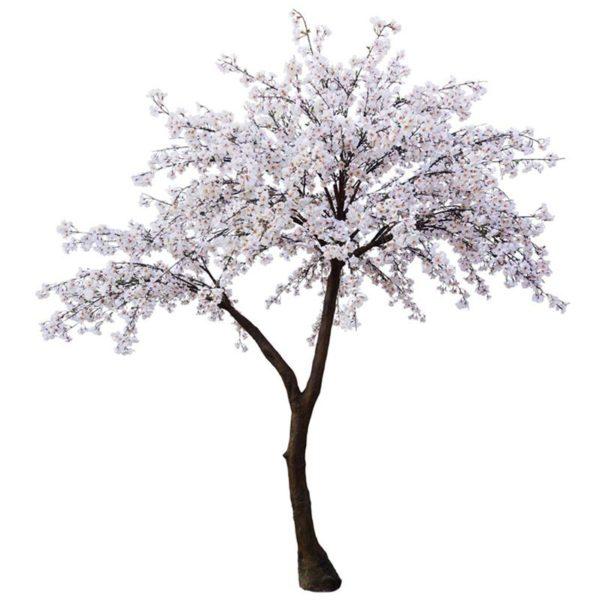 Τεχνητό Δέντρο Αμυγδαλιά Λευκή Υ300