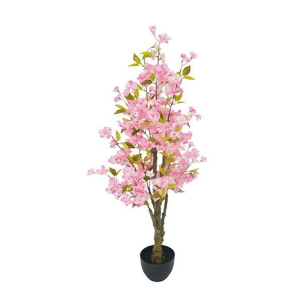 Τεχνητό Δέντρο Ανθισμένη Κερασιά Με Ροζ Άνθη Υ130