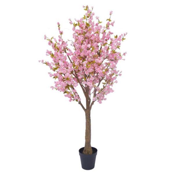 Τεχνητό Δέντρο Ανθισμένη Κερασιά Με Ροζ Άνθη Υ230