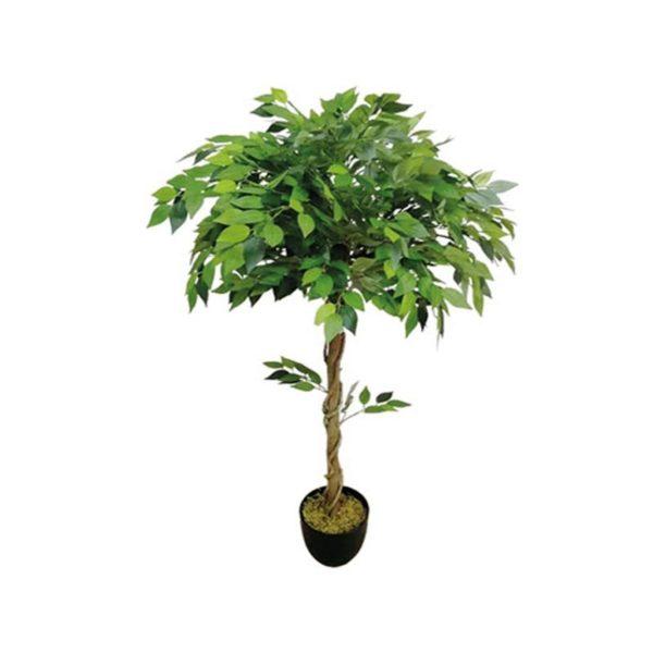 Τεχνητό Δέντρο Μπέντζαμιν Πράσινο Μπάλα Υ120