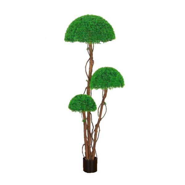 Τεχνητό Δέντρο Γκαζόν Τριπλή Φούντα Υ155