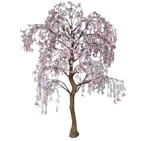 Τεχνητό Δέντρο Ροδακινιά Ροζ Υ290