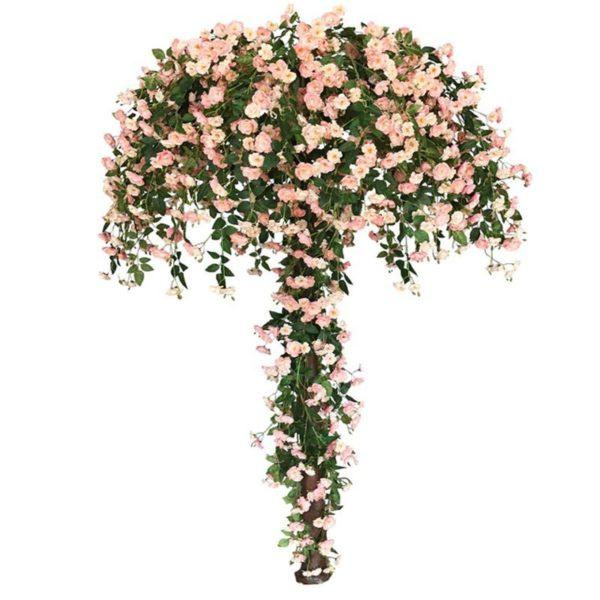Τεχνητό Δέντρο Τριανταφυλλιά Αναρριχώμενη Ροζ Υ270