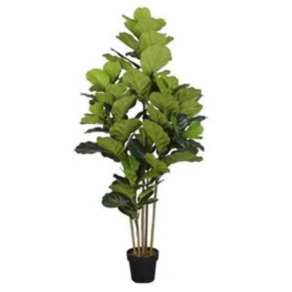 Τεχνητό Φυτό Φίκος Λυράτα Σε Γλάστρα Υ165