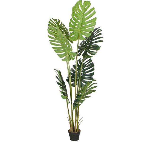 Τεχνητό Φυτό Μονστέρα Σε Γλάστρα Υ230