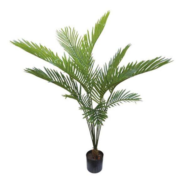 Τεχνητό Φυτό Πάλμα Real Touch Σε Γλάστρα Υ120