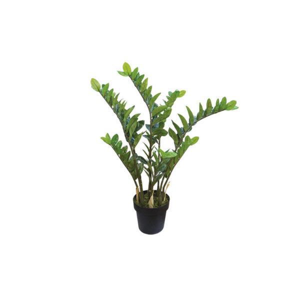 Τεχνητό Φυτό Ζαμιοκούλκας Σε Γλάστρα Υ95