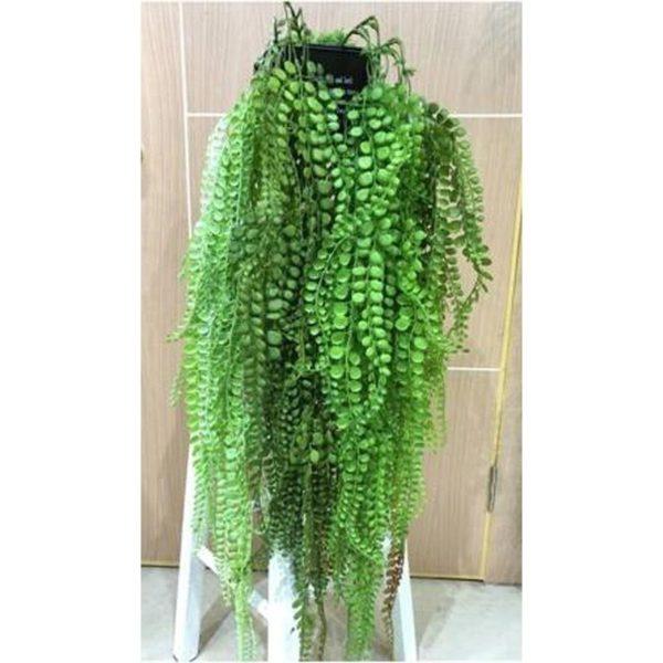 Τεχνητό Κρεμαστό Παχύφυτο Πράσινο