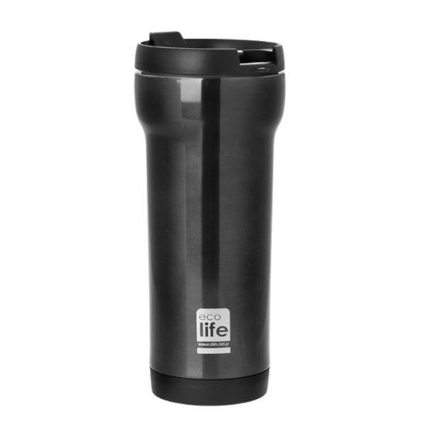 Θερμός Για Καφέ Style Γκρι 420ml