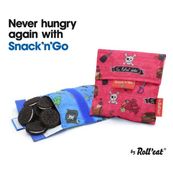 Θήκη Για Σάντουιτς Snack n' Go Princess Ροζ