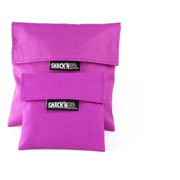 Θήκη Για Σάντουιτς Snack n' Go Purple, Σετ Των 2