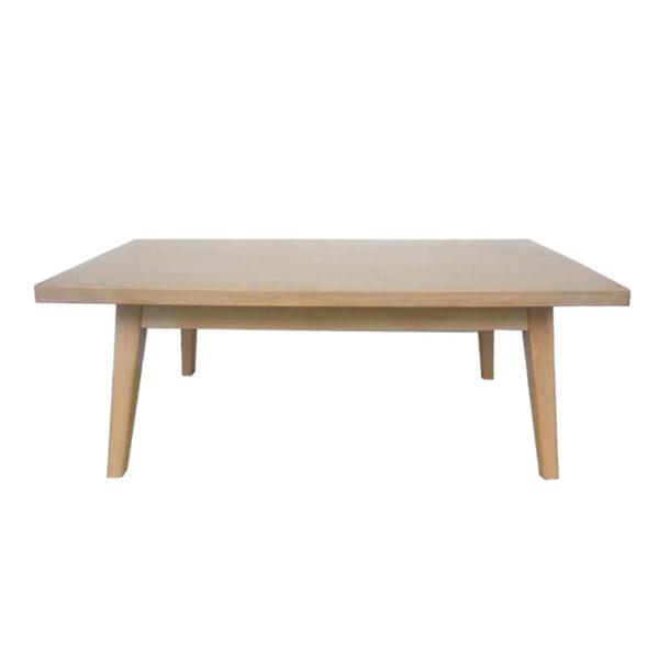 Τραπέζι Μέσης Ξύλινο Natural Beige 'Danish' 120x60 Υ45