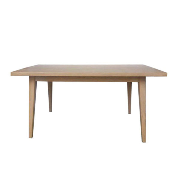 Τραπέζι Τραπεζαρίας Ξύλινο Natural Beige 'Danish' 160x80 Υ80