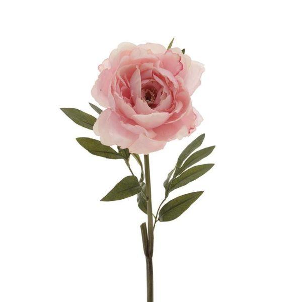 Υφασμάτινο Κλαδί Λουλούδι Ροζ Υ73