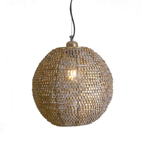 Ζάρος Φωτιστικό Οροφής Μεταλλικό Σαμπανί 'Ball' Δ30