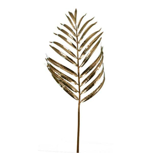 Ζάρος Φύλλο Αρέκα Χρυσό, Με Μεταλλική Βαφή Υ78
