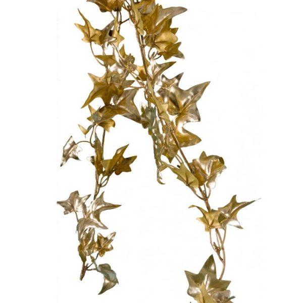 Ζάρος Γιρλάντα Κισσός Χρυσή, Με Μεταλλική Βαφή Υ140