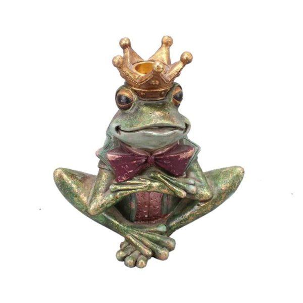 Ζάρος Κηροπήγιο Βάτραχος 'Squat' Y18