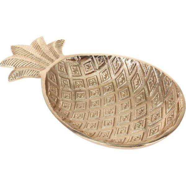 Ζάρος Πιατέλα Αλουμινίου Χρυσό 'Pineapple' Μ32