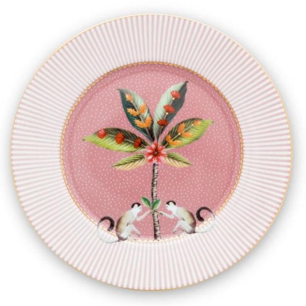 PIP Πιάτο Γλυκού 'La Majorelle' Ροζ Δ17
